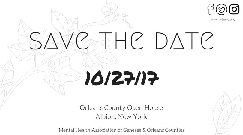 Upcoming Events Mental Health Association