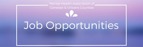 Jobs At The Mha Mental Health Association